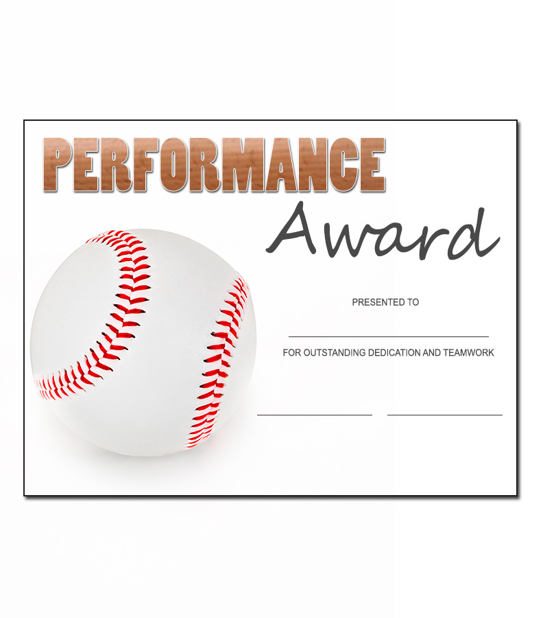 Baseball award template kukook for Baseball certificate ideas