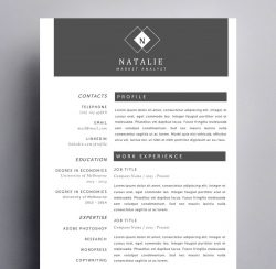 cool resume templates for mac creative resume templates for mac apple pages ٩ ۶ 20967 | natalie hanson resume 250x244