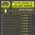 infographic resume stand out