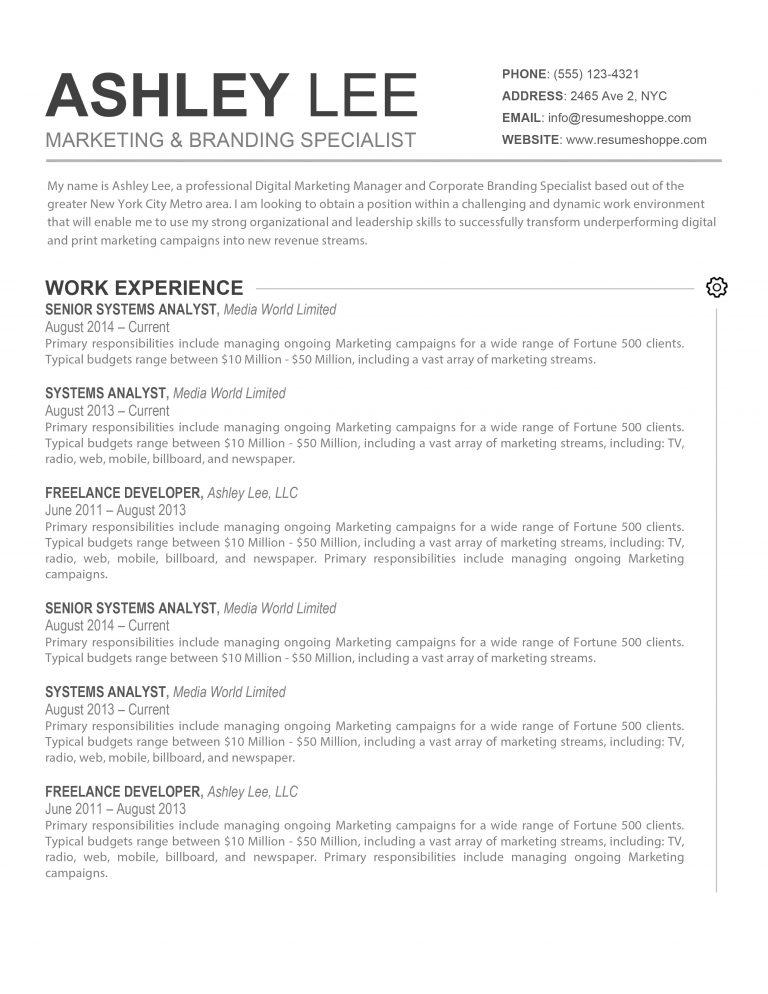 the ashley lee resume kukook