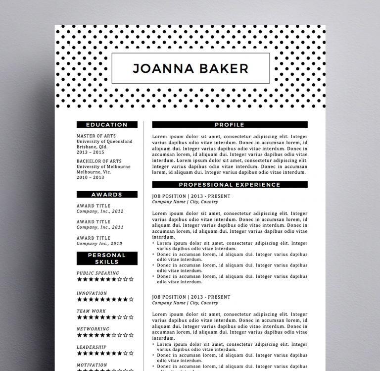 joanna baker resume kukook