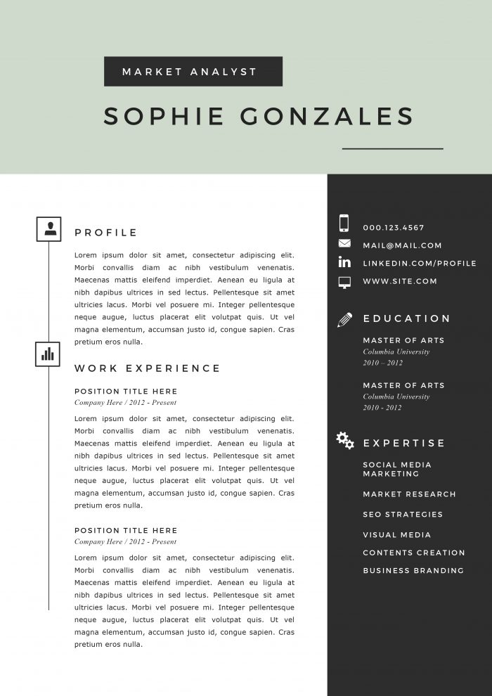 31 creative resume templates for word you ll love them kukook