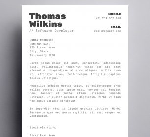 Thomas Wilkins Programmer Cover Letter