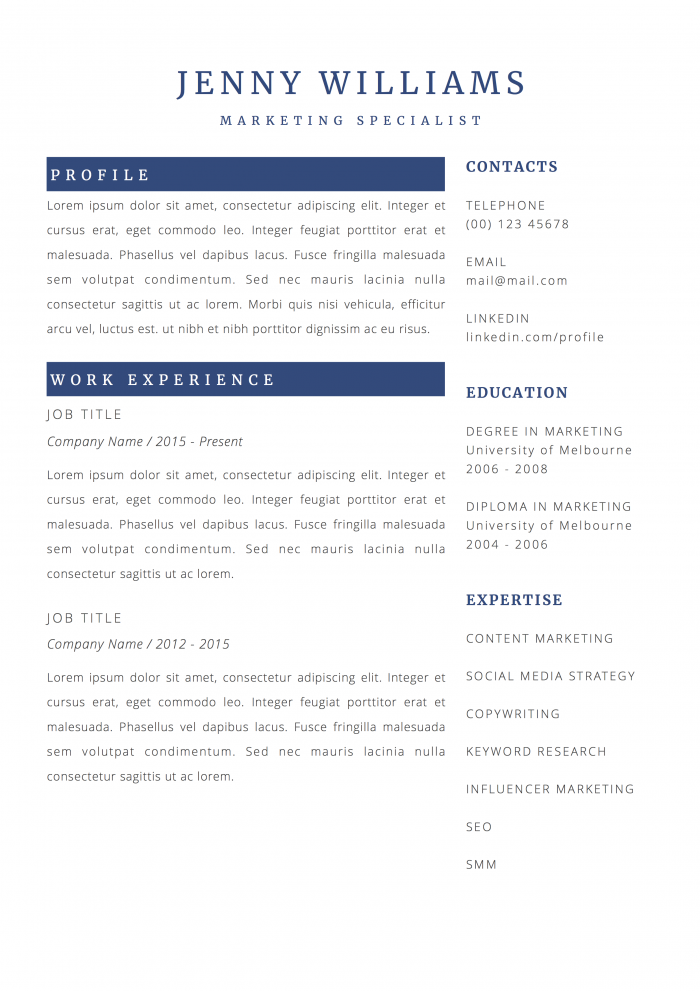 31 Creative Resume Templates for