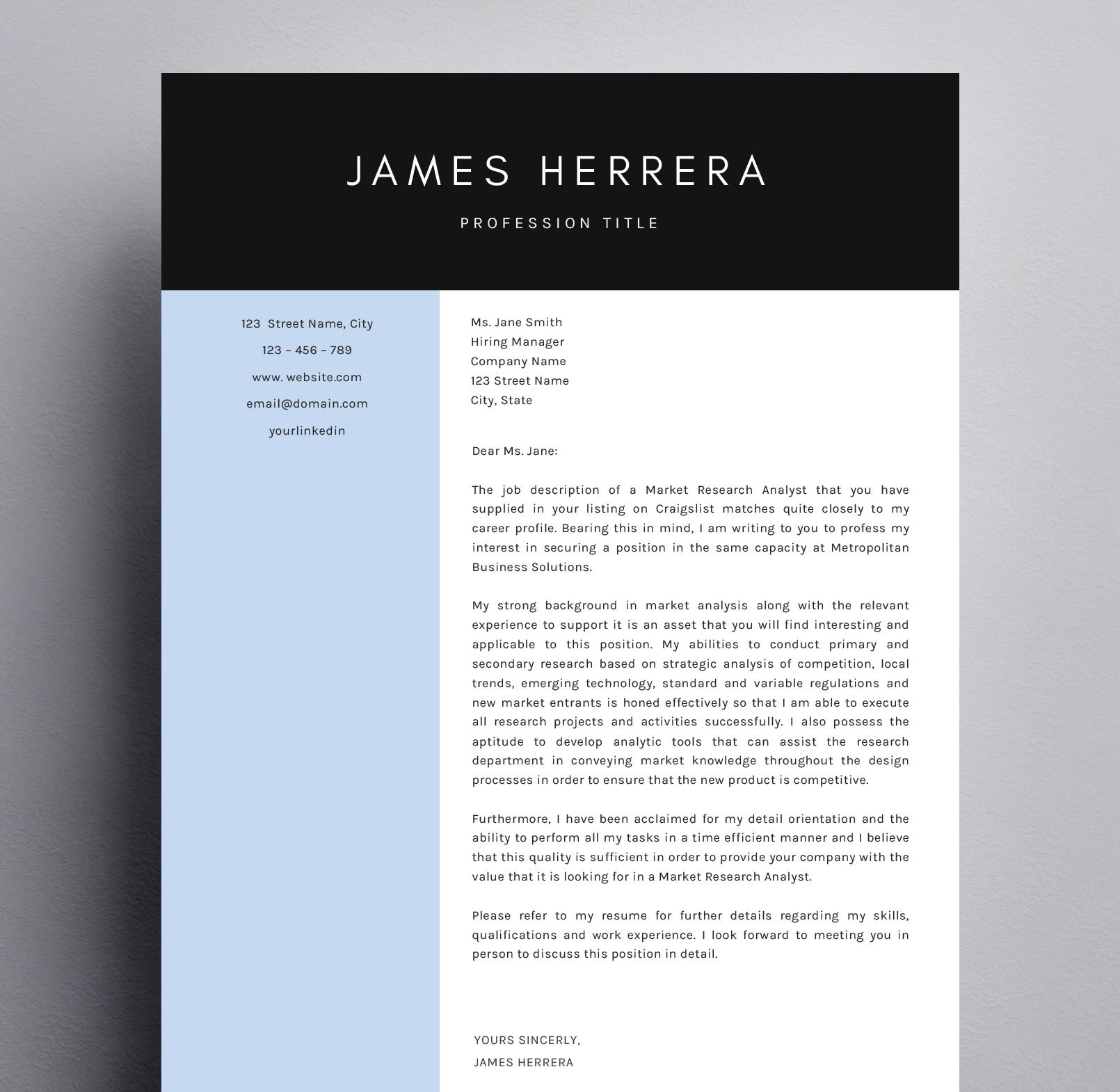 James Herrera Cover Letter Kukook